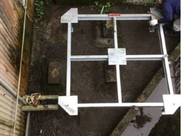 クーリングタワー(冷却塔)の洗浄メンテナンス