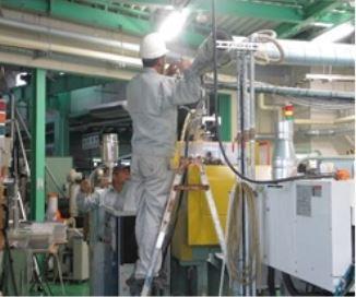 ダクト配管の保温工事