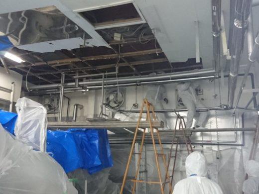 天井の改修工事