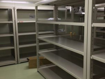 中量棚の搬入・組立・設置工事