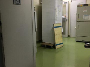 保冷庫 複数台搬入設置工事