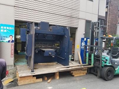 複数の工作機械の中古買取・撤去