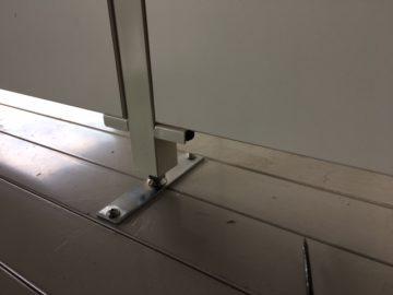 物置内パーティション耐震補強工事