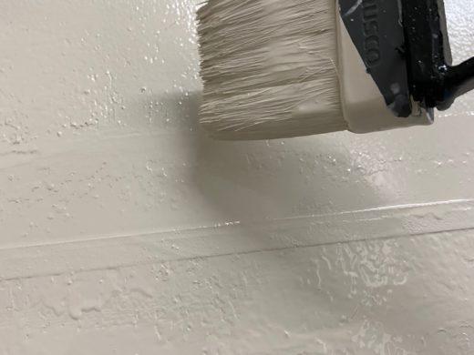 壁面ペイント補修工事